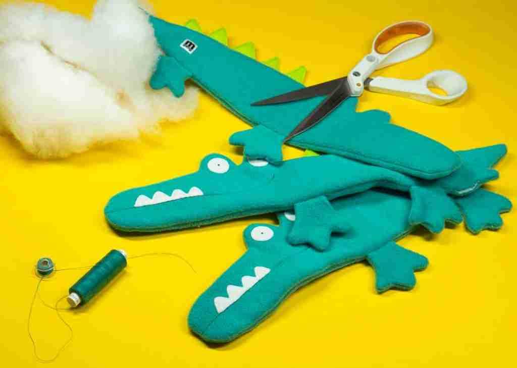 Johnny Alligator handmade toys
