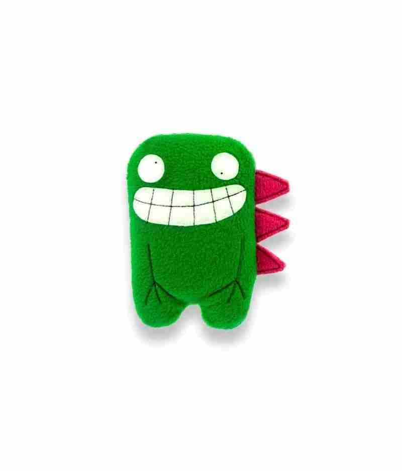 Dalton Twin Green Dino Soft Toy