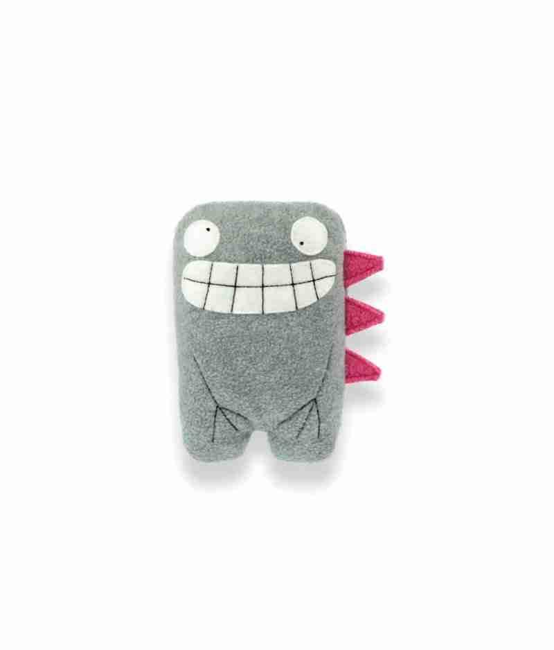 Dalton Twin Grey Dino Soft Toy