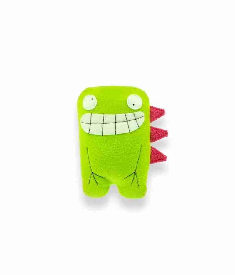 Dalton Twin Lime Dino Soft Toy