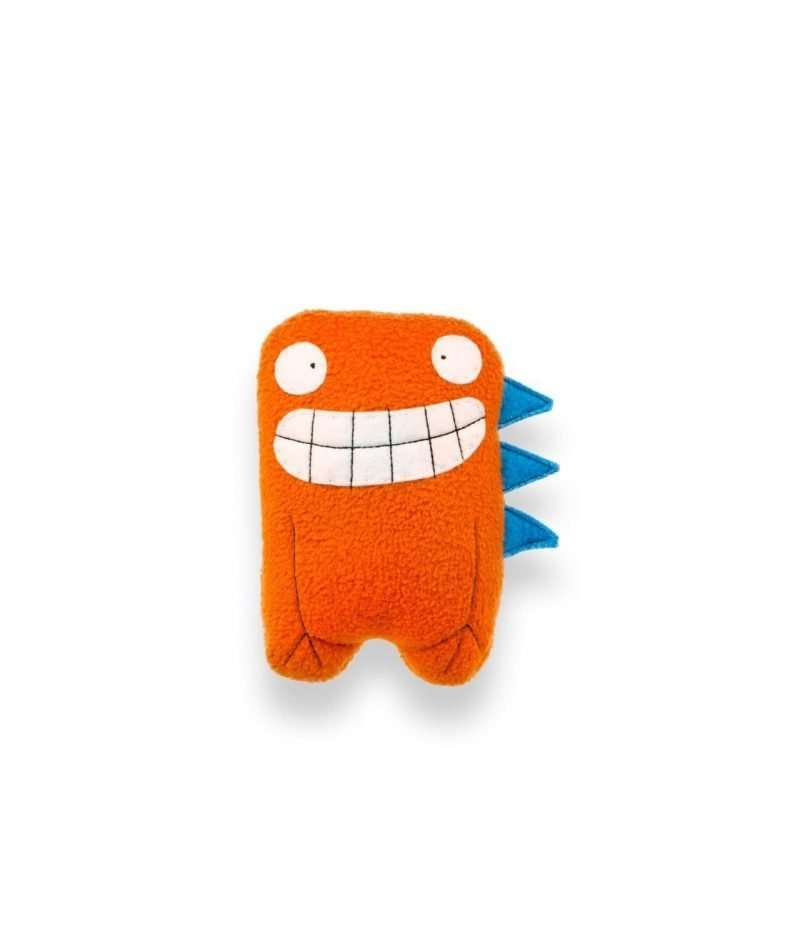 Dalton Twin Orange Dino Soft Toy