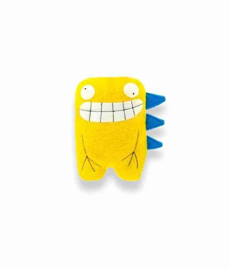 Dalton Twin Yellow Dino Soft Toy