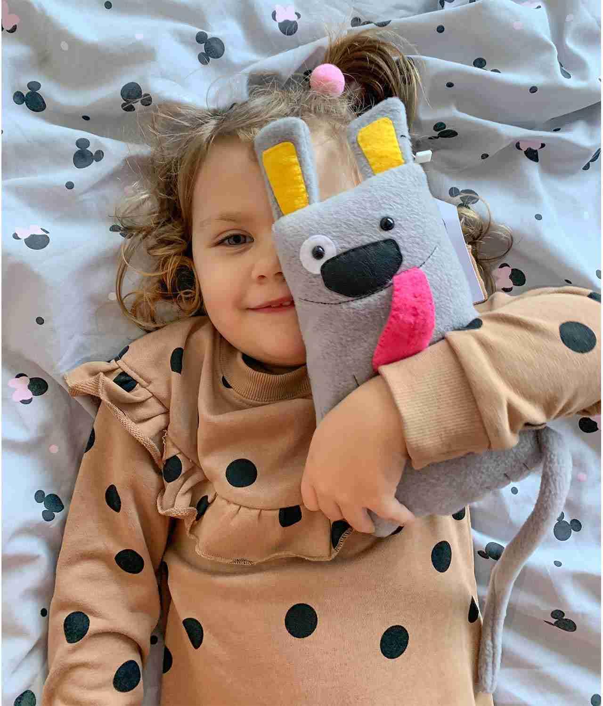 Soft Toy Dog wit Kids