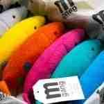 Plush fish rainbow