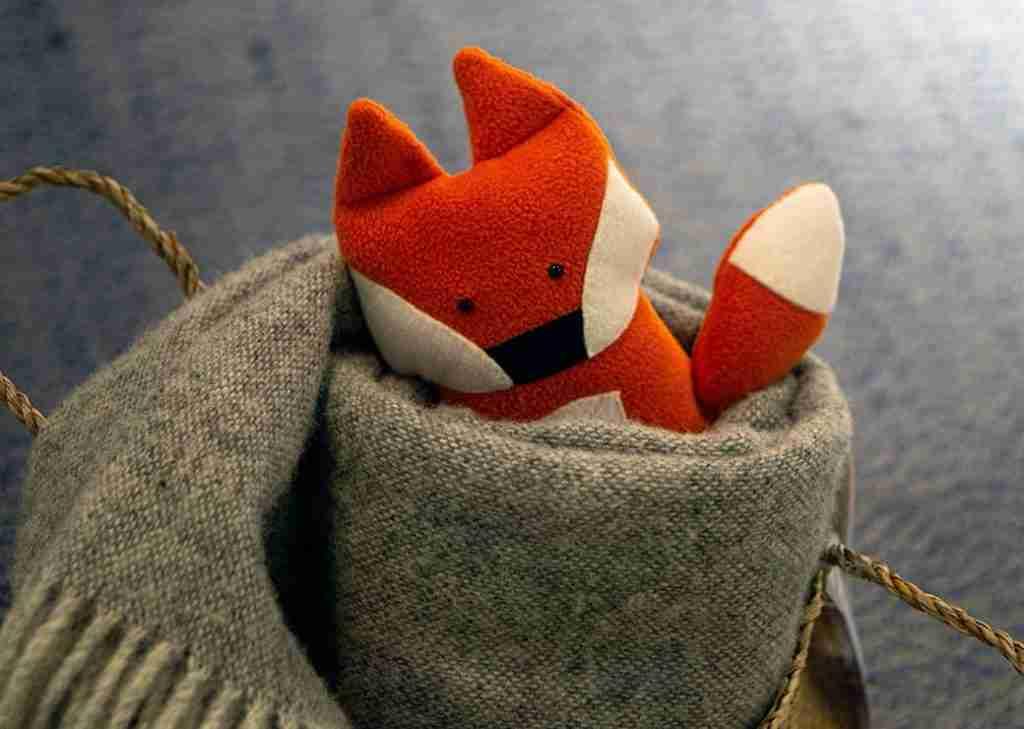 Bonnie Red Fox stuffed toy