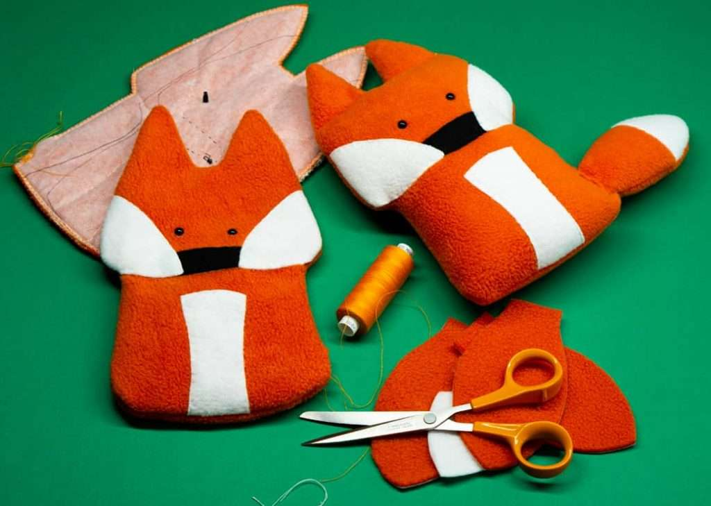 Handmade Bonnie Fox Toy