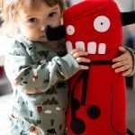 Frank Evil Plush Toy with Baby