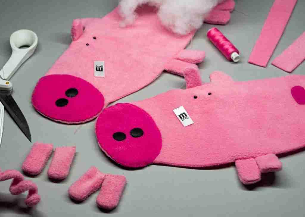 Handmade Vinnie Vig Porky toy