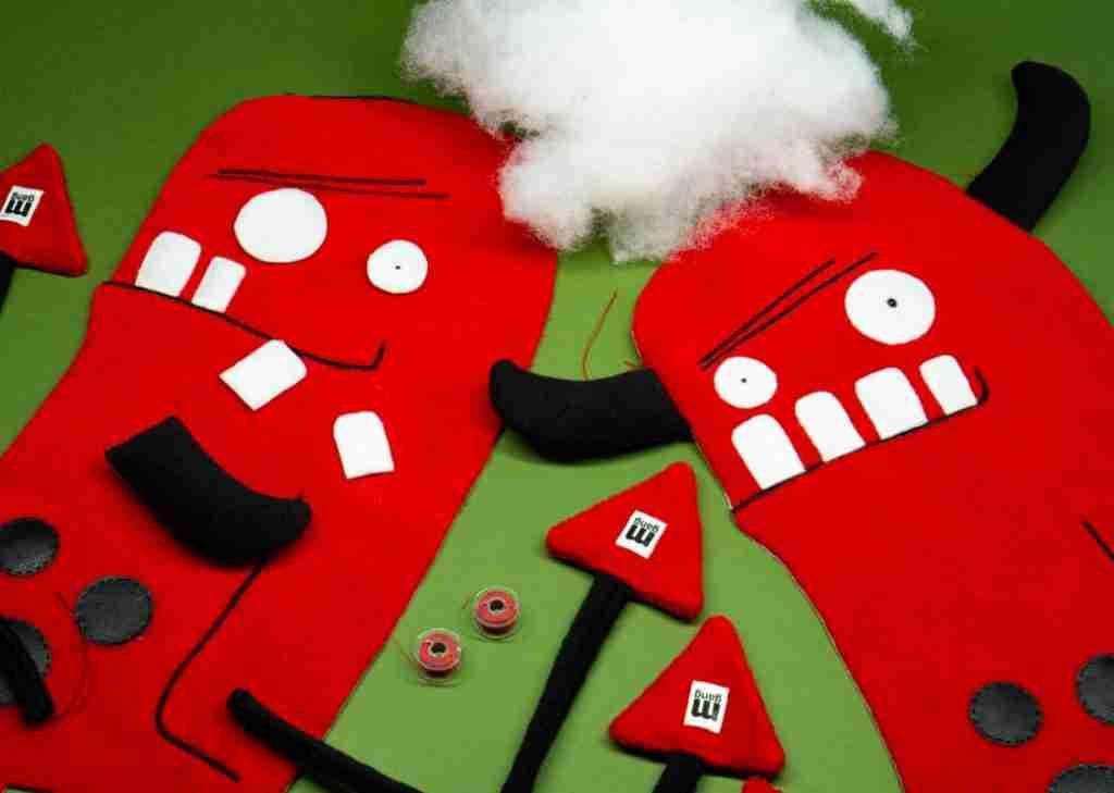Frank Evil handmade toys plush