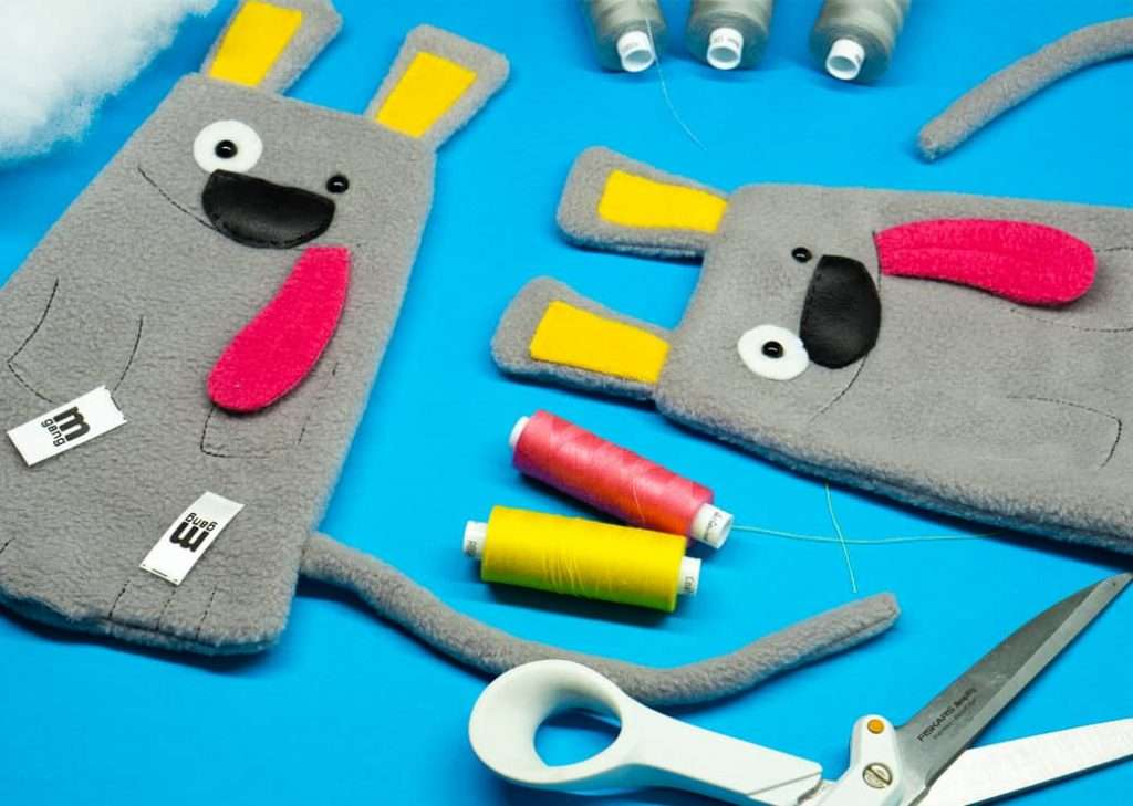 Eddie Mad Dog plush handmade toys