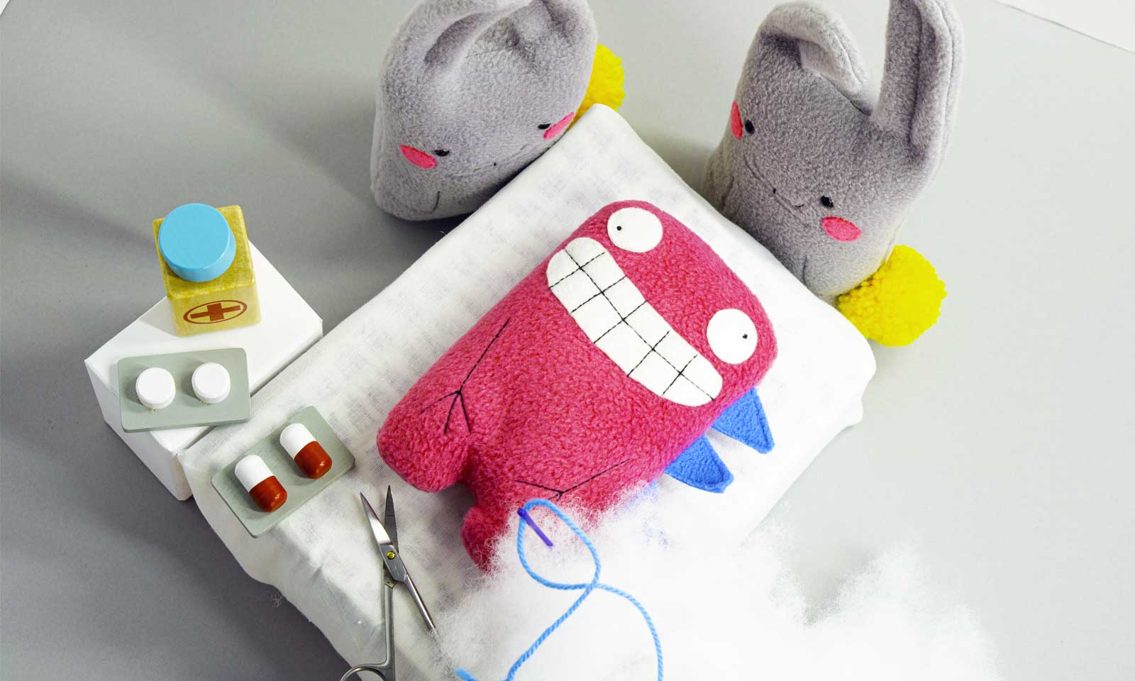 handmade plushies warranty for life