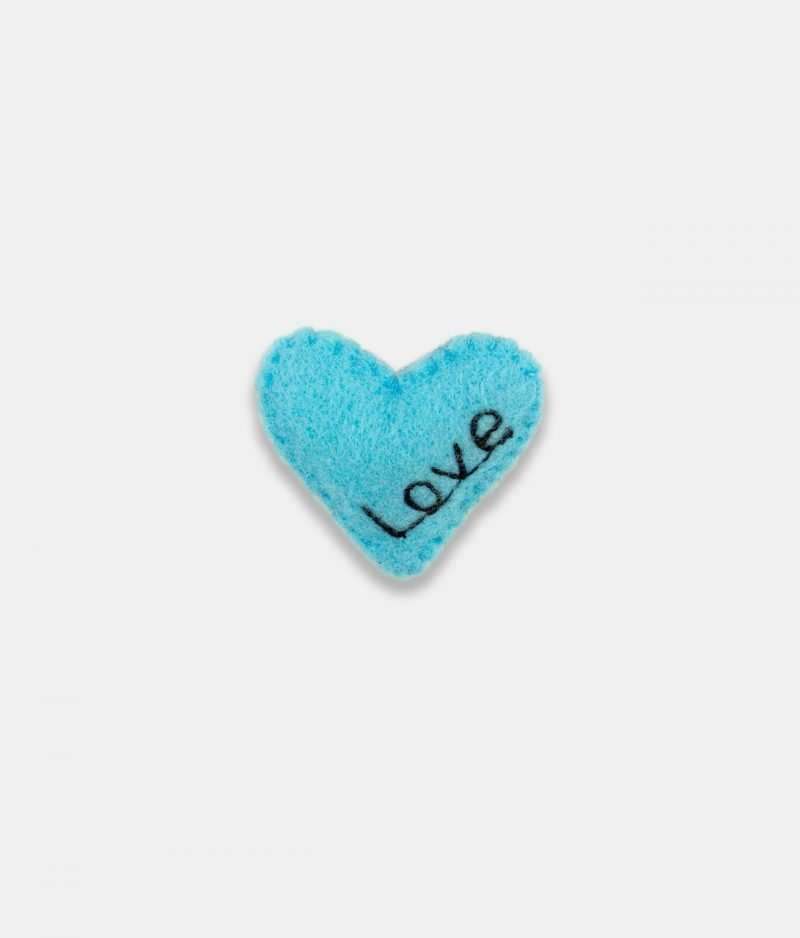 Love Blue Brooch
