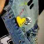 Cool Love Brooch
