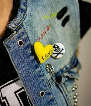Cool Love Brooch
