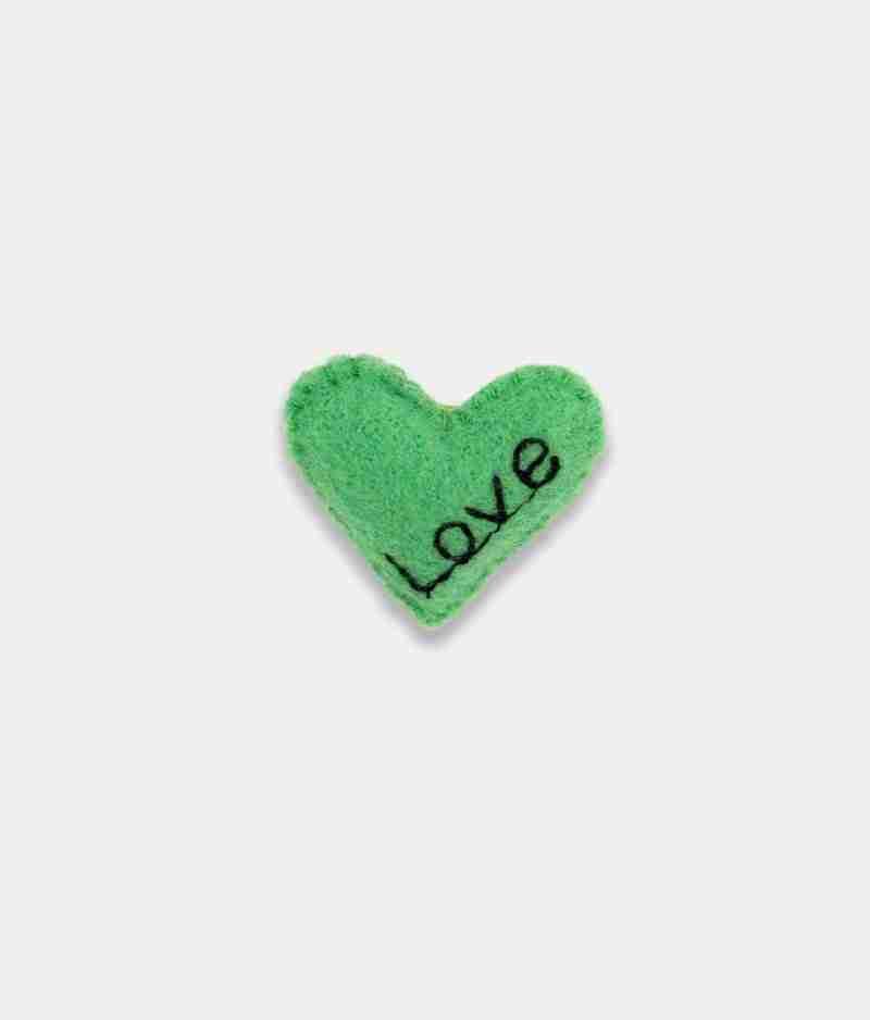 Love green Brooch