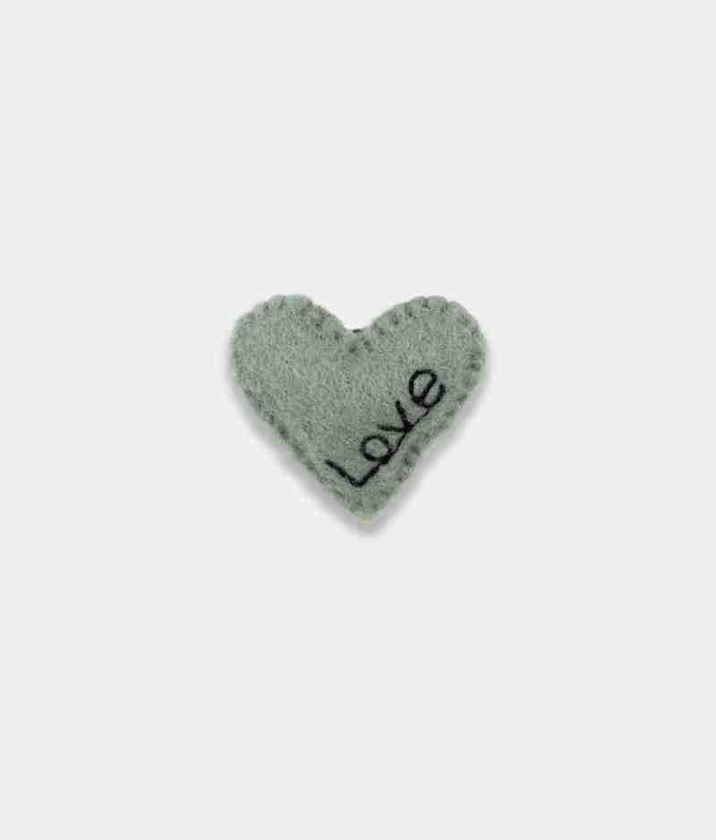 love grey Brooch
