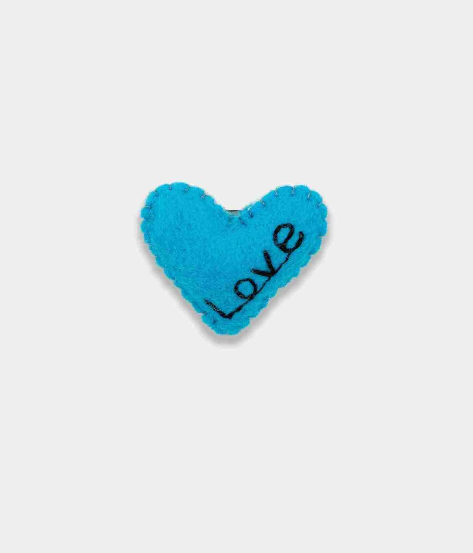 Love sky blue Brooch