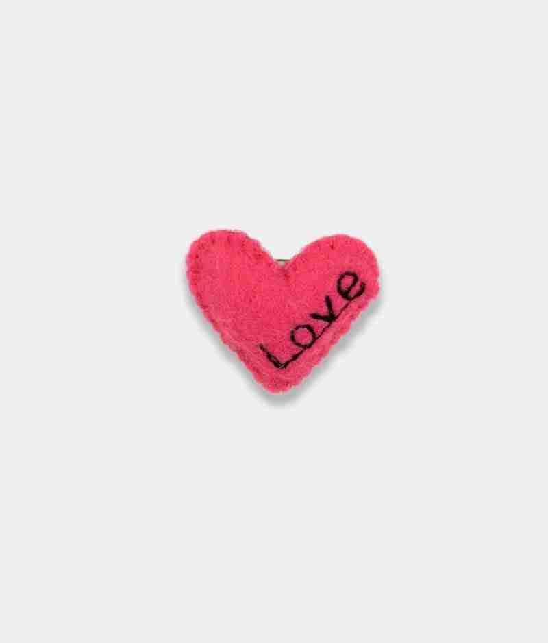Love Pink Brooch