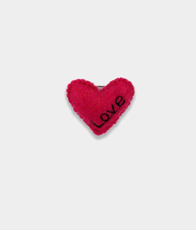Love Red Brooch