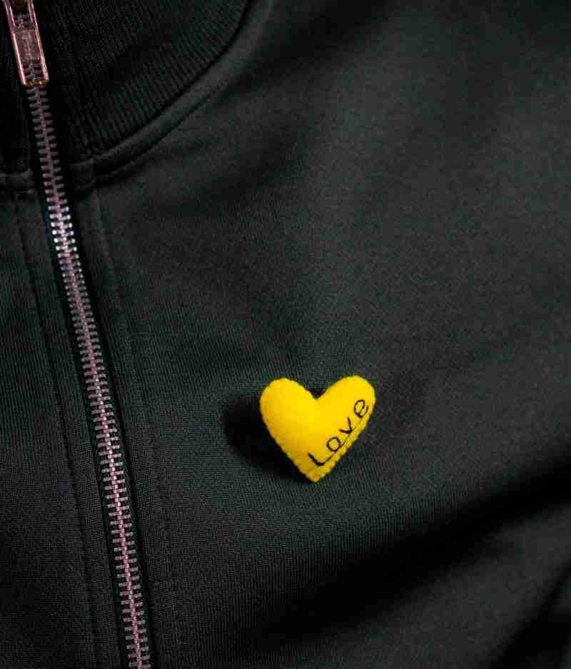 Stylish Heart Brooch