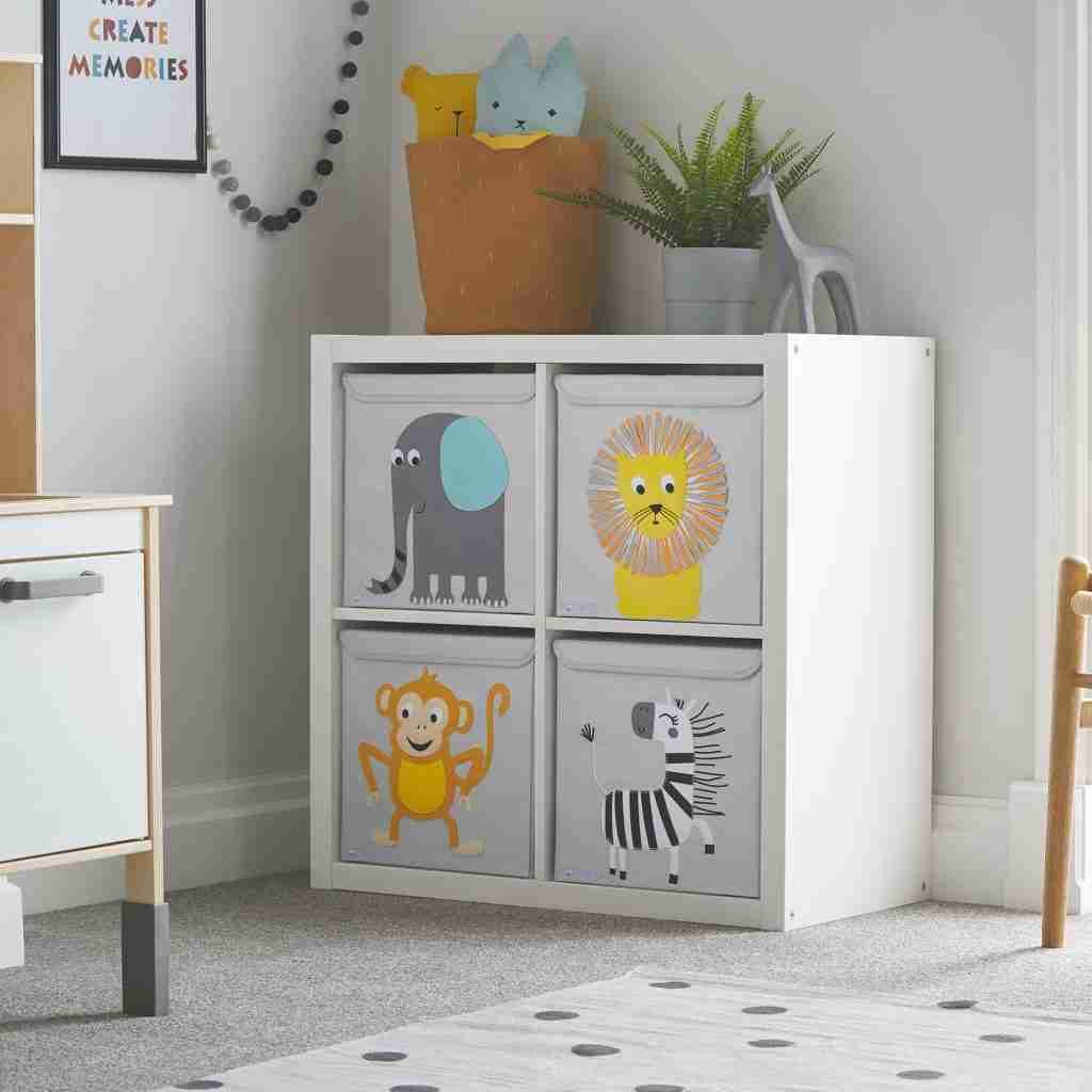 nursery storage ideas kids