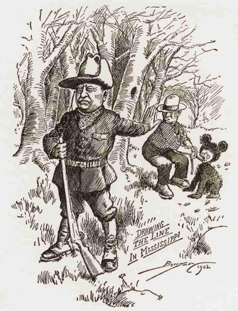 Original drawing Teddy Clifford Berryman