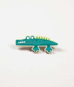 Alligator Pin Badge