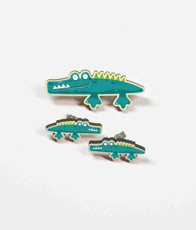 Alligator Gift Set