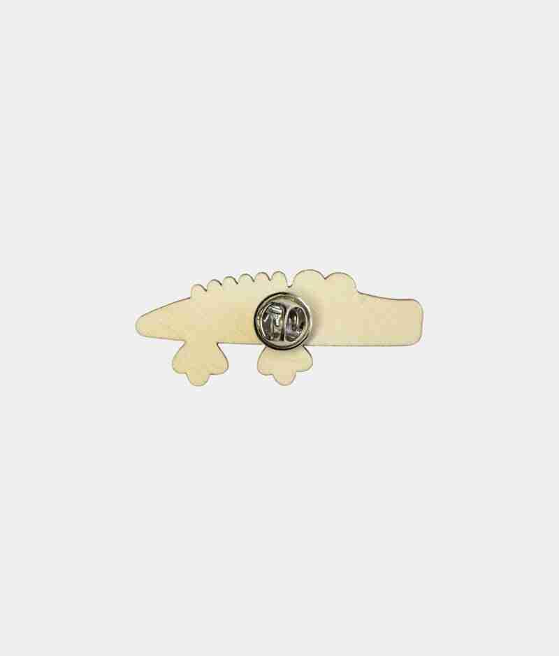 crocodile pin