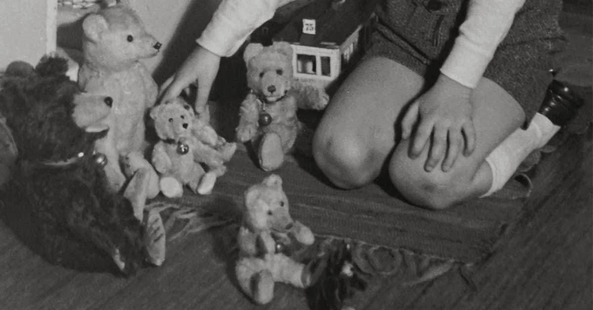 history of teddy bear