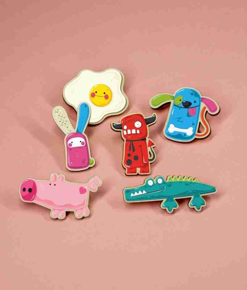 Cute Pin Badges