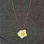 egg pin badge